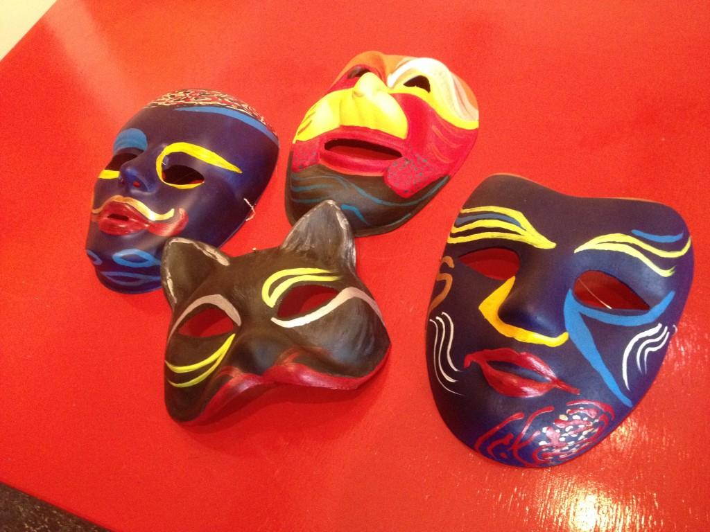 Creatief Oostersteeg - Maskers versieren